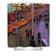 Times Square Shower Curtain by Dan Sproul