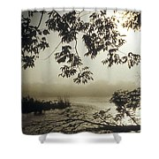 Ussuri Territory The Ussuri River Shower Curtain by Anonymous