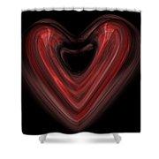 Valentine Shower Curtain by Christopher Gaston