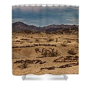 Valley Of The Names Shower Curtain by Robert Bales
