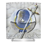 Warriors Triumphant Shower Curtain by Cliff Hawley