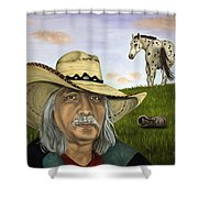 What An Ass Shower Curtain by Leah Saulnier The Painting Maniac