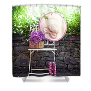 Wild Flowers Shower Curtain by Joana Kruse