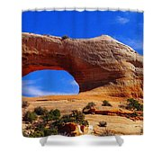 Wilsons Arch Shower Curtain by Jeff Swan