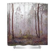 Winter At Wickham Shower Curtain by Lynda Robinson