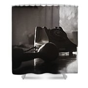 116104 Shower Curtain by Taylan Soyturk