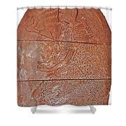 Bikira Maria Shower Curtain by Gloria Ssali