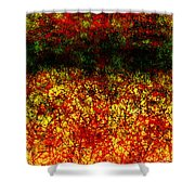 1437 Abstract Thought Shower Curtain by Chowdary V Arikatla