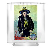 1880 Lighthall's Medicine Show Shower Curtain by Historic Image