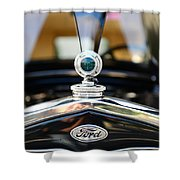 1931 Ford Model A Shower Curtain by Paul Ward