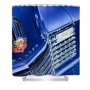 1941 Cadillac Emblem Shower Curtain by Jill Reger