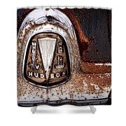 1946 Hudson Coupe  Shower Curtain by Gordon Dean II