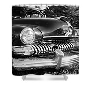 1951 Mercury Coupe - American Graffiti Shower Curtain by Edward Fielding