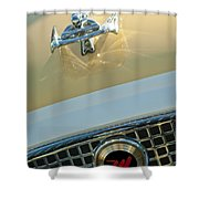 1960 Nash Metropolitan 3 Shower Curtain by Jill Reger