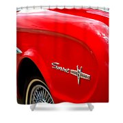 1963 Ford Falcon Sprint Shower Curtain by Brian Harig