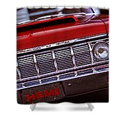 1964 Plymouth Savoy Shower Curtain by Gordon Dean II
