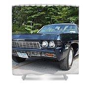 1968 Chevrolet Impala Sedan Shower Curtain by John Telfer