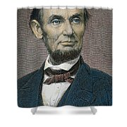 Abraham Lincoln Shower Curtain by American School