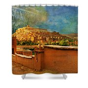 Ait Benhaddou  Shower Curtain by Catf