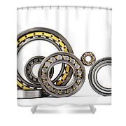 Bearings Shower Curtain by TouTouke A Y