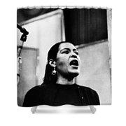 Billie Holiday (1915-1959) Shower Curtain by Granger