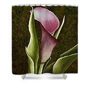 Calla Lily Shower Curtain by Mary Ann King