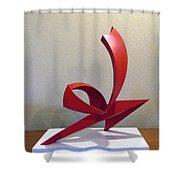Capoeira Shower Curtain by John Neumann