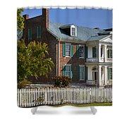 Carnton Plantation Shower Curtain by Brian Jannsen