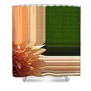 Dahlia Named Intrepid Shower Curtain by J McCombie