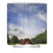 Embrace Shower Curtain by Joana Kruse