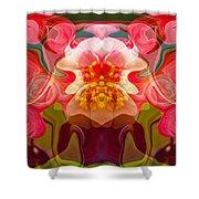 Flower Child Shower Curtain by Omaste Witkowski