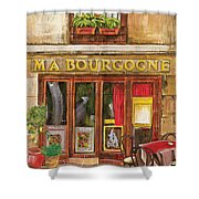 French Storefront 1 Shower Curtain by Debbie DeWitt