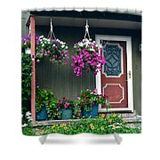 Home Sweet Home Shower Curtain by Frozen in Time Fine Art Photography