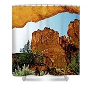 Juniper Gulch Oregon Shower Curtain by Ed  Riche