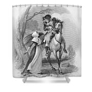 Lydia Darrah, 1777 Shower Curtain by Granger
