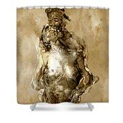 Melt Shower Curtain by Kurt Van Wagner