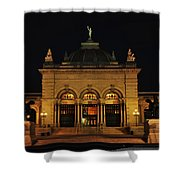 Memorial Hall - Philadelphia Shower Curtain by Bill Cannon