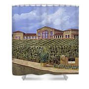 monte de Oro Shower Curtain by Guido Borelli
