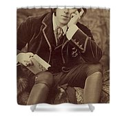 Oscar Wilde 1882 Shower Curtain by Napoleon Sarony