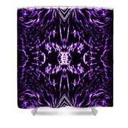 Purple Series 2 Shower Curtain by J D Owen