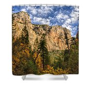The Hills Of Sedona  Shower Curtain by Saija  Lehtonen