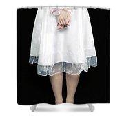 Tied Shower Curtain by Joana Kruse