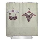 Underwear Shower Curtain by Joana Kruse