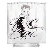 Untitled Shower Curtain by Giannelli