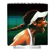 Venus Williams Shower Curtain by Paul Meijering
