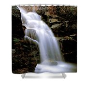 Wildcat Falls Shower Curtain by Bill Gallagher