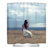 Windy Day Shower Curtain by Joana Kruse
