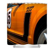 2007 Ford Mustang Saleen Boss 302 Shower Curtain by Brian Harig