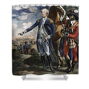 Marquis De Lafayette Shower Curtain by Granger