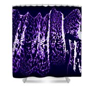 Abstract 67 Shower Curtain by J D Owen